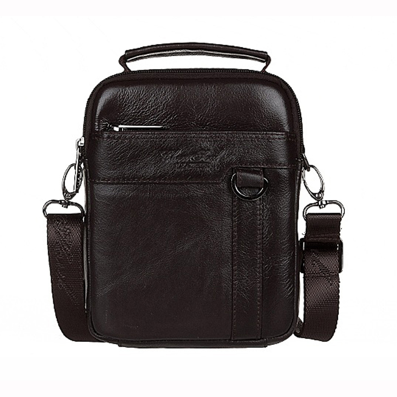 Genuine leather For Men Fashion Handbags Briefcase Messenger bag Small Shoulder Bag Male Cowhide Casual Business Shoulder bag