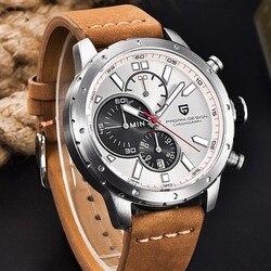 Watches Men Waterproof Chronograph Sport Quartz Watch Luxury Brand PAGANI DESIGN Military Wristwatches Clock relogio masculino