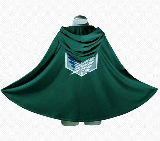 Anime Attack on Titan no Kyojin Scouting Legion Cosplay Grade Cloak Capes