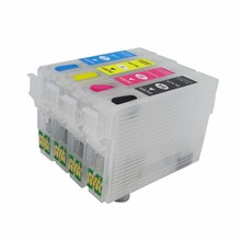 T1801 -  T1804 Refillable Ink Cartridge For Epson XP30 XP102 XP202 XP205 XP305 XP405 XP225 XP322 XP325 XP422 XP425
