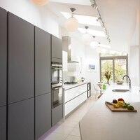 Новинка 2017 года, стильное глянцевый лак современные кухонные шкафы, двери Лидер продаж кухонной мебели l1606004