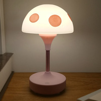 Dimmable Mushroom Table Lamps Portable LED Night Light LED Reading Lamp Student Study Reading Dimmer LED