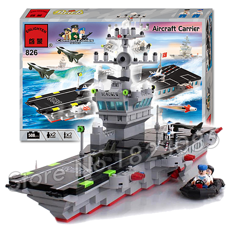 506pcs 2016 new Hot New CombatZones Aircraft Carrier large model Christmas Gift Building Blocks toys Compatible With Lego 2016 extra large 3d printer with 400x400x470mm building envelope
