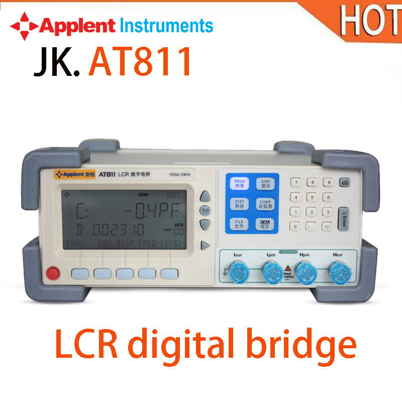2018 HOT Applent AT811 2 times/second, 5 times/second Digital LCR Meter tester Accuracy 0.2% j second elegies
