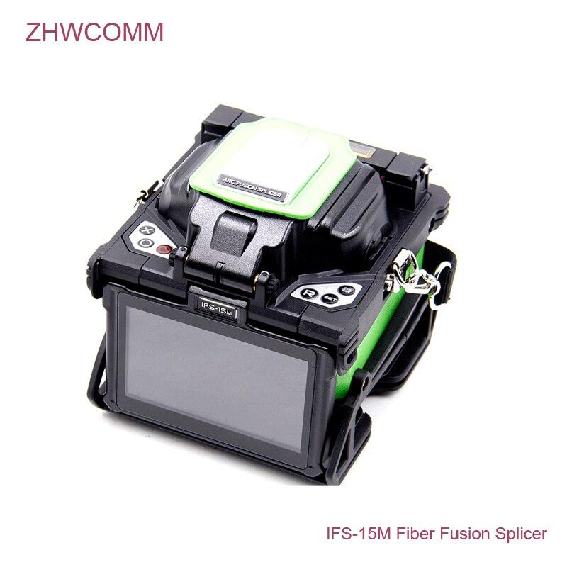 ZHWCOMM IFS-15M INNO Fiber Épissurage/Fiber Optique Épissage Machine ARC Multi-fonction FTTH Fusion Colleuse