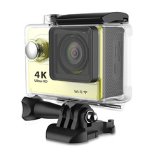 Yellow 4K Fi Sport Action Camera 2.0″ 12MP Helmet Camera DV Video Cam Waterproof