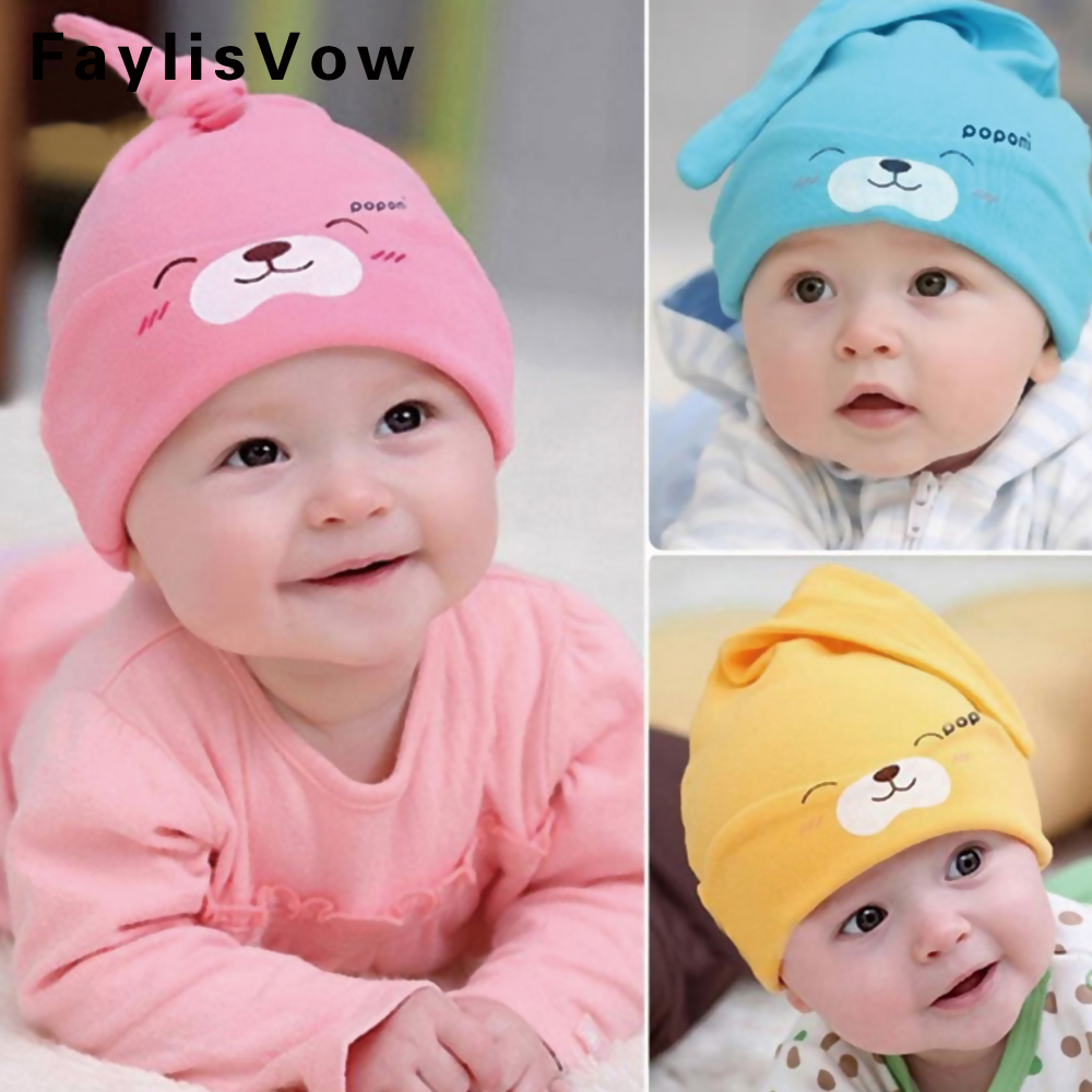New Baby Hat Autumn Winter Baby Beanie Warm Sleep Cotton Toddler Cap Kids Newborn Clothing Accessories Hat womail delicate unisex slouchy oversize winter warm braided beanie cap warm winter hat w7