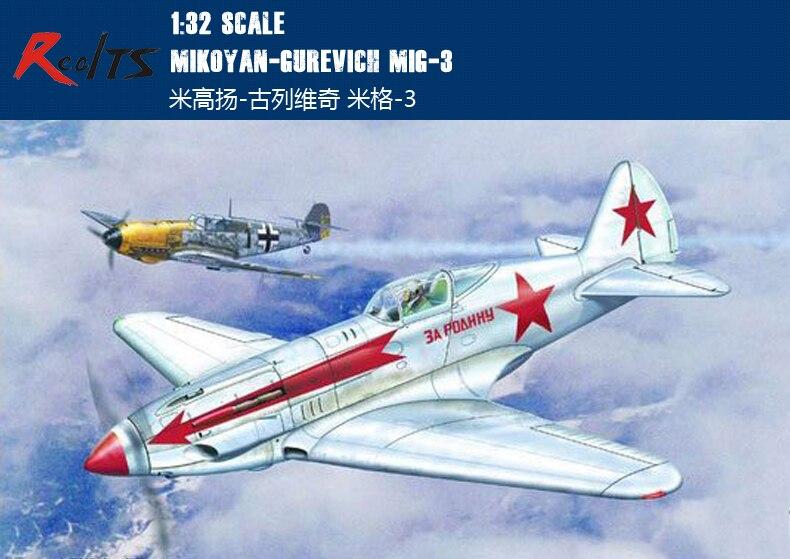 instantní 3 1 32 - RealTS Trumpeter 02230 1/32 MiG-3