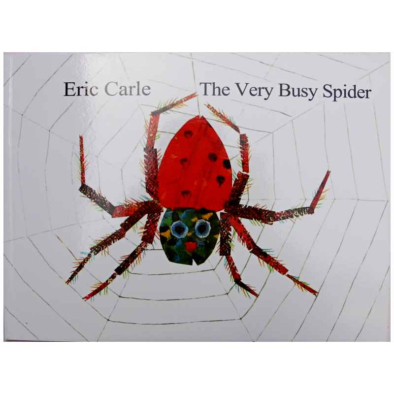 THE VERY BUSY SPIDER By Eric Carle Educational English Picture Book Learning Card Story Book For Baby Kids Children Gifts