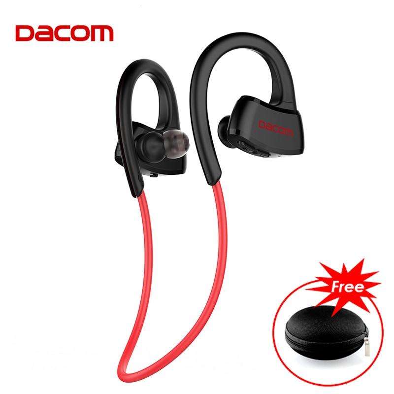 DACOM New P10 IPX7 Waterproof Running Headphone Bluetooth Earphone Sports Stereo Music Headset for phones fone de ouvido
