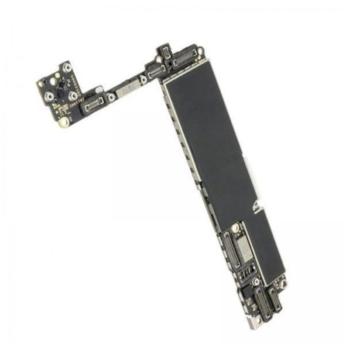 Fábrica desbloqueado para iphone 7 placa-mãe com/sem toque id, original para iphone 7 mainboard com chips, 32 gb 128 gb 256 gb