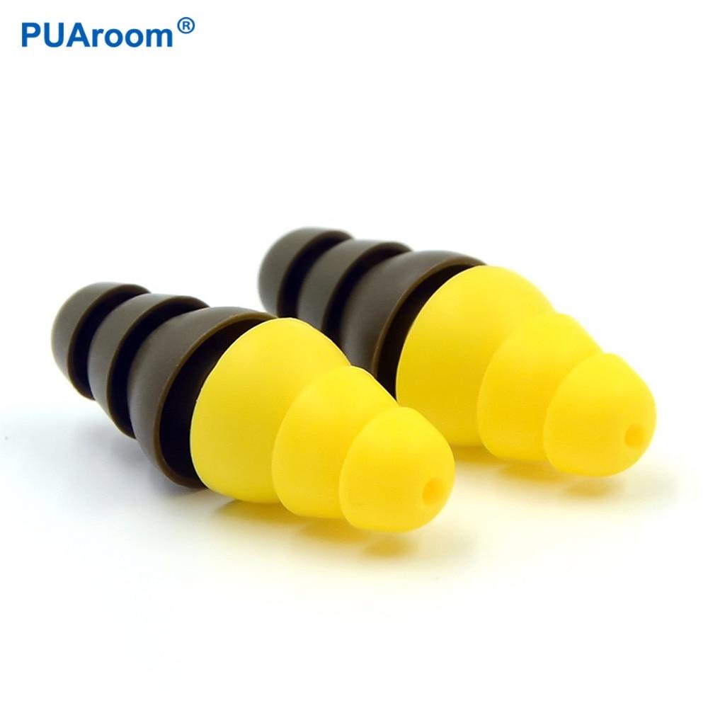 Bouchons d'oreilles Anti-bruit PUAroom pour la Protection auditive