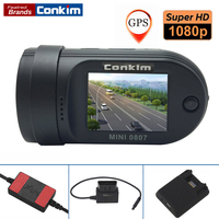 Conkim Car DVR Camera Mini 0807 Ambarella A7 1080P Full HD 1 5 LCD 24 Hours