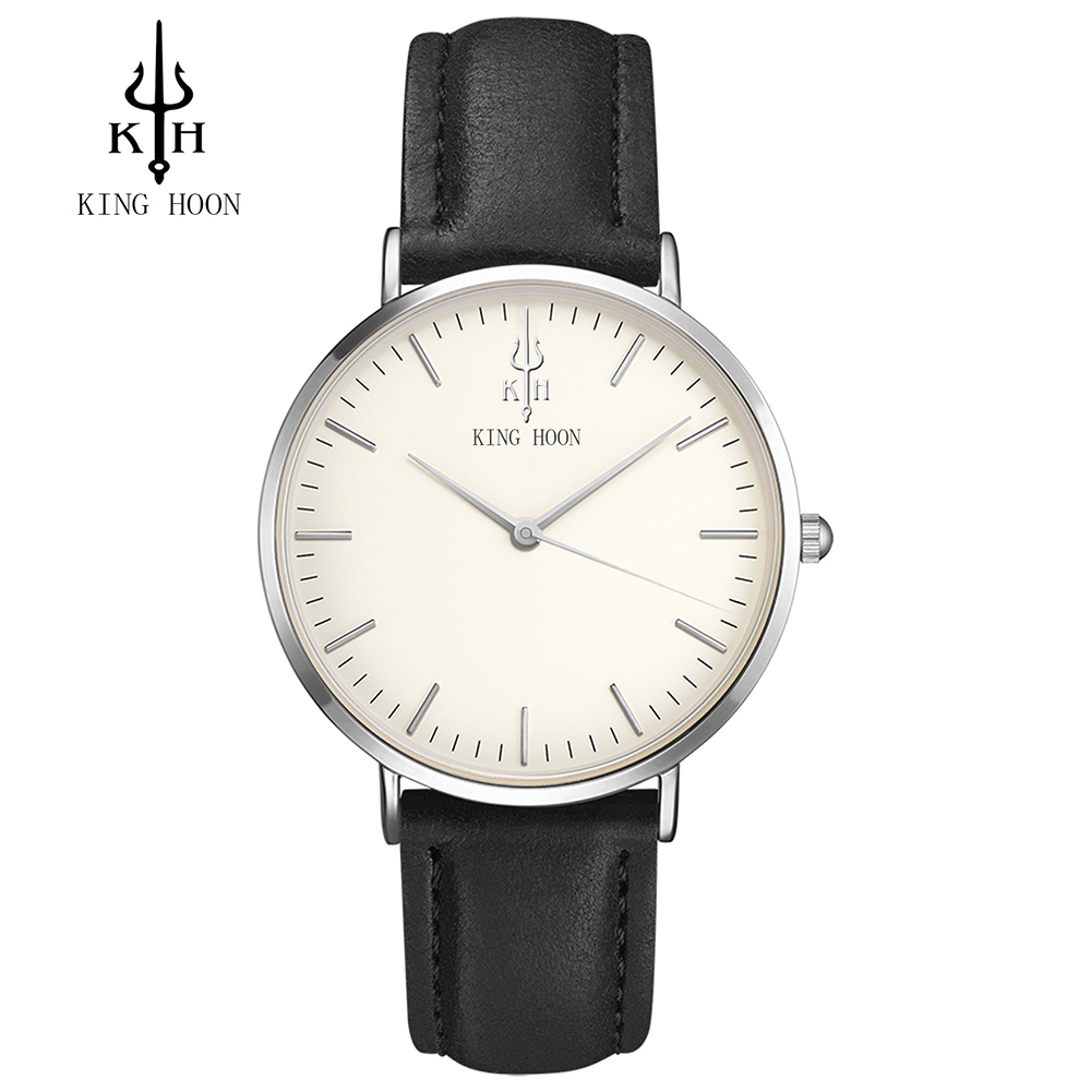 Brand KING HOON Men Casual Sport Watch Women Fashion Dress Watches Male Business Quartz Military Clock Ladies Relogio Masculino onlyou men s watch women unique fashion leisure quartz watches band brown watch male clock ladies dress wristwatch black men