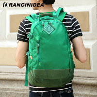 Men Backpack Women Large Capacity Backpacks School Bag For Teenagers Wear Resisting Anti Scratch Green Laptop