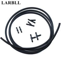 LARBLL 7Pcs/Set Windshield 200CM Universal Cars SUV Pickup Truck Wiper Water Jet Nozzle Hose kit with Connector For Ford VW KIA|Windscreen Wipers|   -