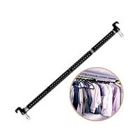162cm Telescopic Rod Car Clothes Hanger Clothing Rod Bar Garment Rack Holder