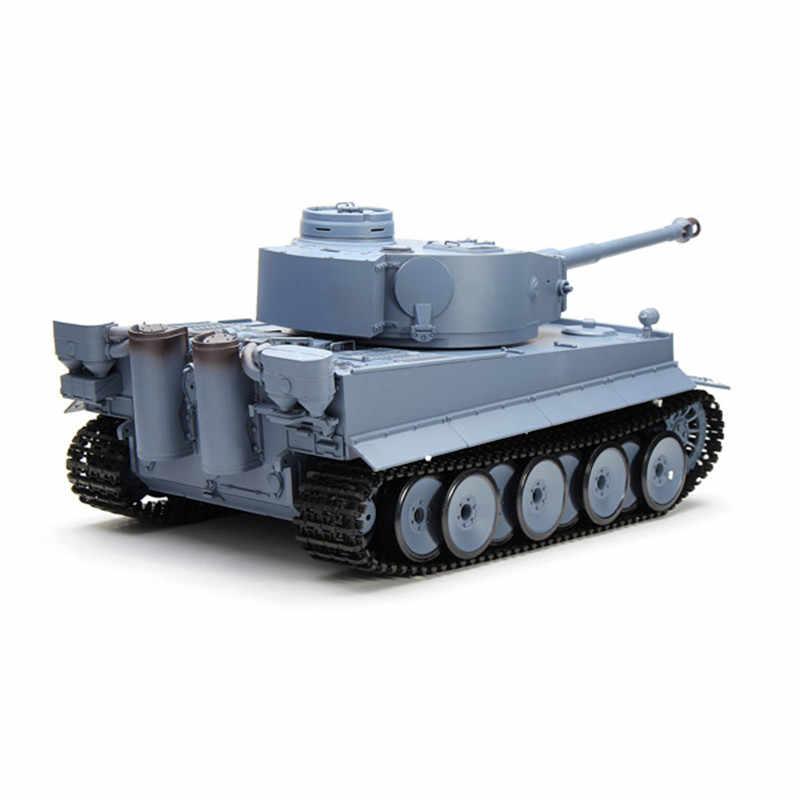Nestest Heng largo 3818-1 2,4G 1/16 Alemania tanque Tigre Radio Control tanque de batalla RC Control remoto Juguetes regalos de Navidad para niños