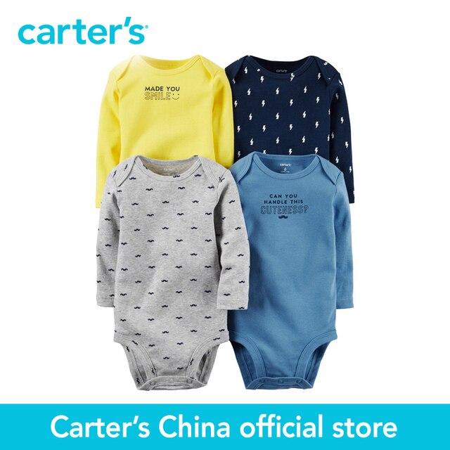 Картера 4 шт. детские дети дети Оригинальные Трико 126G338, продавец картера Китай официальный магазин