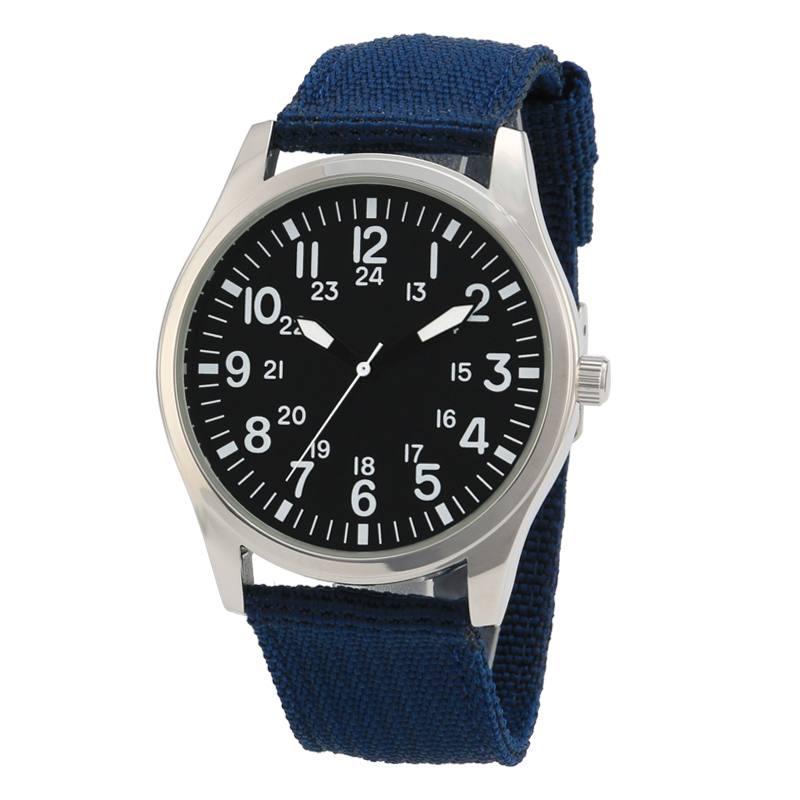 Drop Shipping Watches For Men Ultra Slim Quartz Watch with Simple Nylon Band Relogio Masculino Wristwatches Free Shipping
