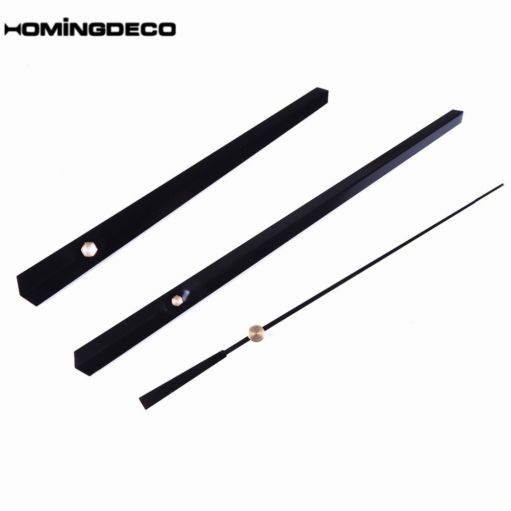 Homingdeco DIY Wall Clock Accessories Metal Needle Pointer Second Hand Minute Hour Hand Set Needles Clocks Home Decor Promotion