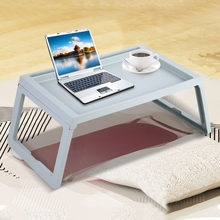 Foldable Desk Breakfast Bed Laptop Table Computer Holder Portable Serving Tray Stand PC Folding Desk(China)