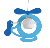 Free Shipping child Light blue helicopter kids lighting