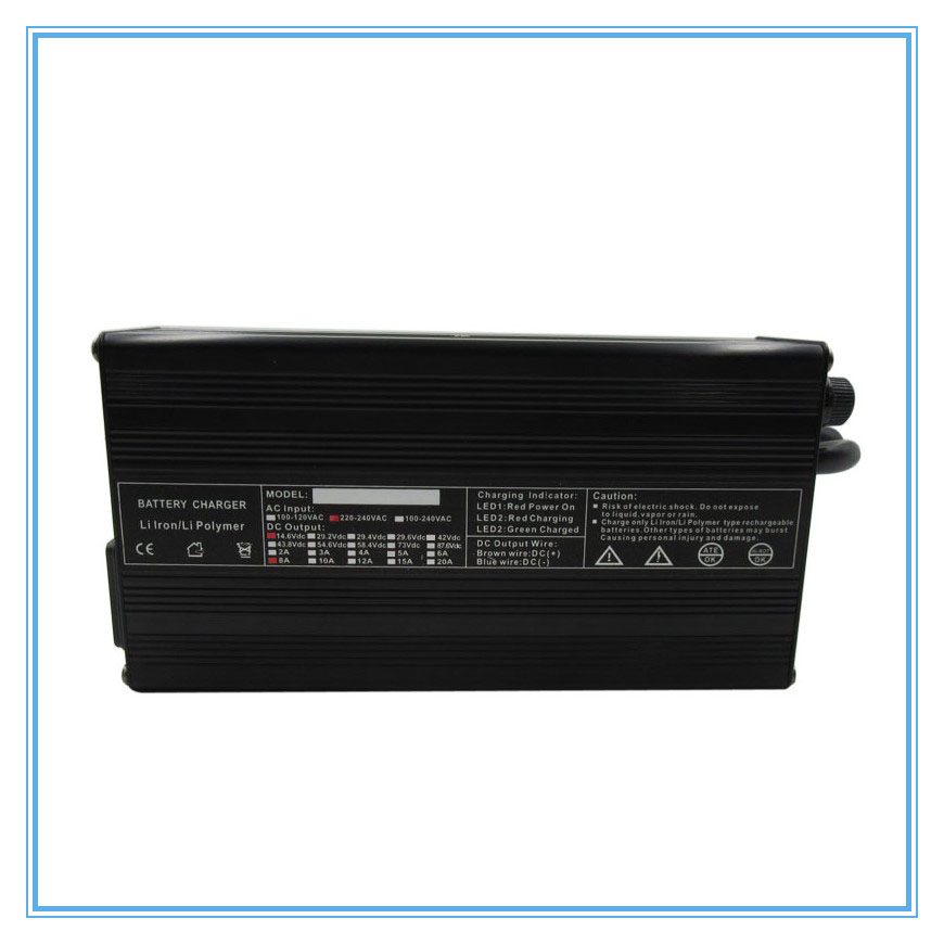 180w 12v 8a Lifepo4 Battery Charger 14.6v 8a Fast Charger With Aluminum Case Use For 4s 12v 30a 40a 50a 100a Battery Pack Accessories & Parts Consumer Electronics