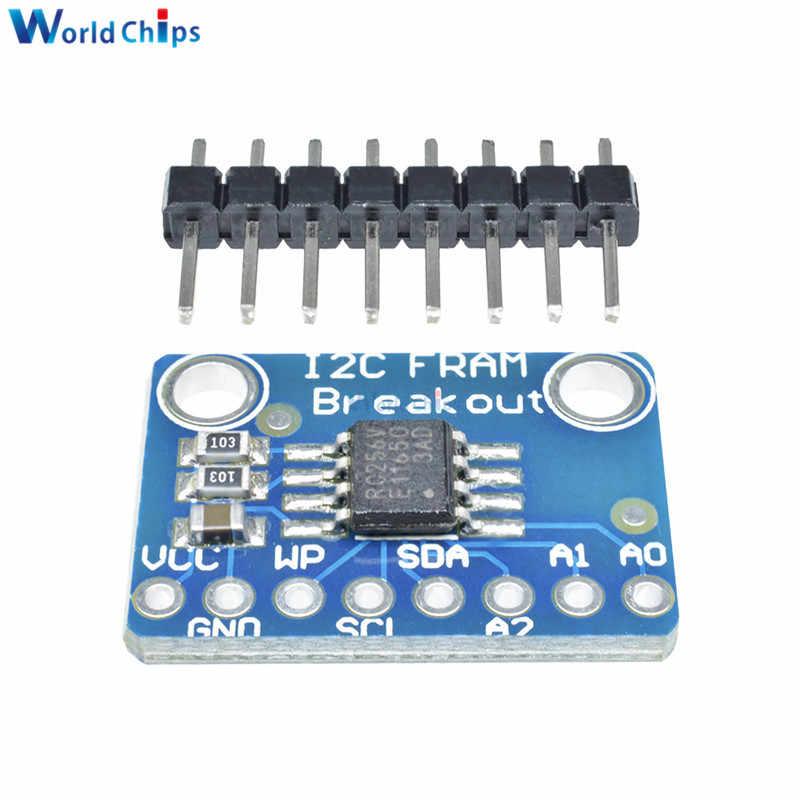 MB85RC256V I2C Non-Volatile FRAM Breakout Memory 32KB I2C FRAM Breakout Board