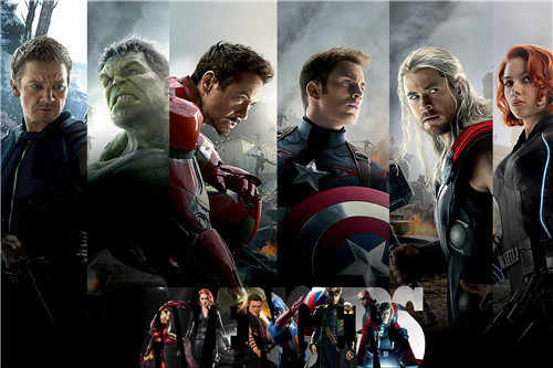 Canvas Poster Silk Fabric HOT SALE avengers hulk and hawkeye marvel poster Home Decoration  Print Stylish Retro