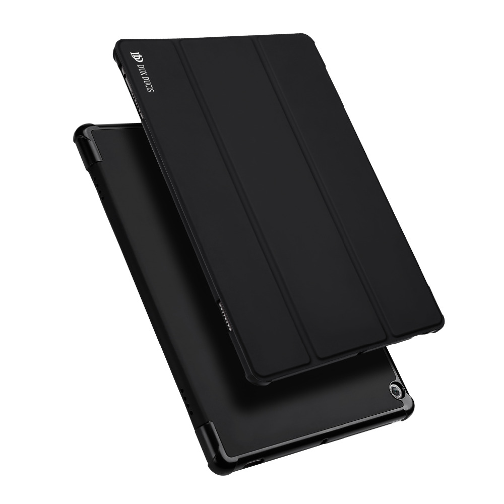 Case for 10.1'' Huawei WaterPlay 10.1 inch PU Leather Cover + Soft TPU Back Shell with Auto WakeSleep for HDN-W09 10.1 Stand