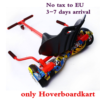 High quality 4 colors HoverboardSeat Go Kart Conversion Kit for Hoverboards Self Balancing scooter not included Hoverboardkart  go-kart