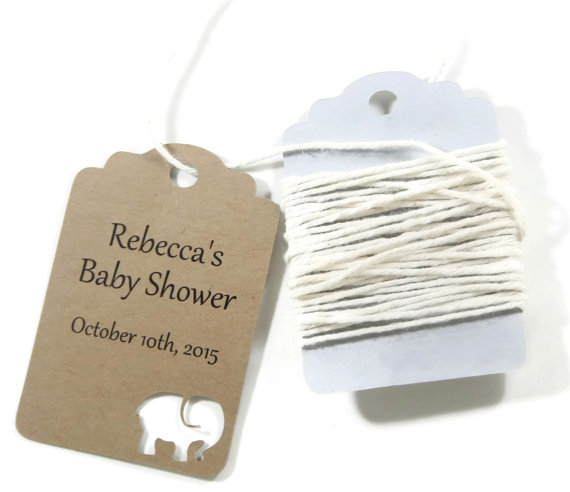 Custom Name Mommy To Be Baby Shower Gift Tags Welcome Thank You