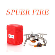 3500W Folding Gas Stove Portable Outdoor Camping Hiking Picnic  Igniter Gas Stoves Foldable Split Burner Camping Equipment