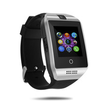 Hot Sale Q18 Passometer Smart watch with Touch Screen camera TF card Suppoet Bluetooth smartwatch for