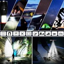 Tactical Flashlight with COB Lantern