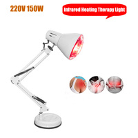 Electric Infrared Light Heating Therapy Lamp Joint Arthritis Shoulder Lumbar Body Pain Relief Device Desktop Heat Massage Lamp