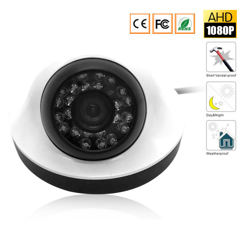 1080P AHD Security Camera dome waterproof 2MP Surveillance 24pcs Leds IR Leds 20M Night Vision Outdoor/indoor HD CCTV Camera