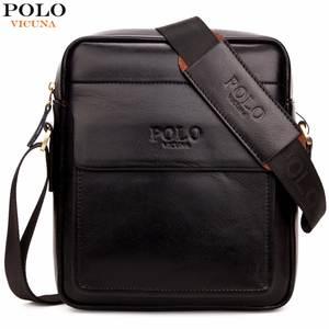 d00988da5c9f0 VICUNA POLO Messenger Bags Design Leather Man sac a main