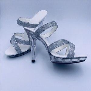 Spezielle high heels/12 cm ultra dünne sexy sandalen/star schuhe/laufsteg schuhe Tanz Schuhe