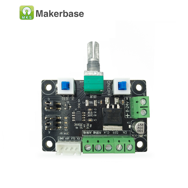 Makerbase MKS OSC  Pulse Pwm Signal Generate Module StepStick Stepper Motor Driver Controller Speed Frequency  Direction Control
