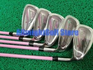 Image 4 - Женские клюшки для гольфа Maruman RZ Гольф полный комплект клюшек Драйвер + fairway wood + утюги + клюшки графитовая клюшка для гольфа с шлем