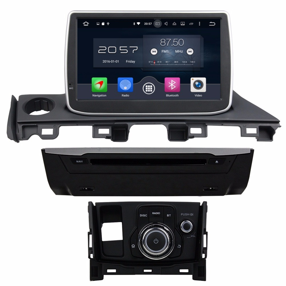 1024 600 octa core 9 android 6 0 car radio dvd gps for mazda 6 atenza 2017 with 4gb ram. Black Bedroom Furniture Sets. Home Design Ideas