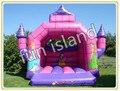 Envío gratis castillo puente inflable con sgs, certificación EN71