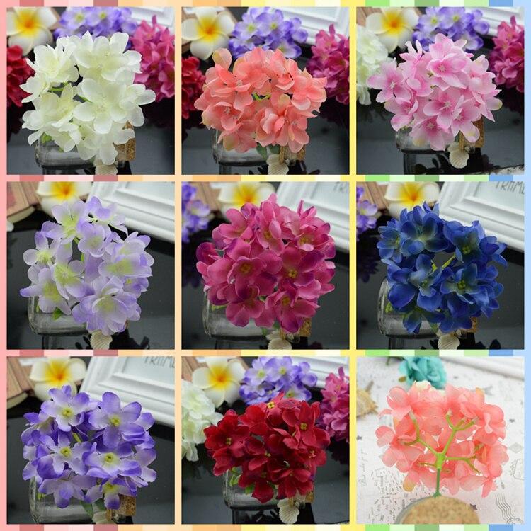 Online Get Cheap Hydrangea Silk Flowers Aliexpresscom Alibaba