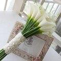 2016 Великолепная Свадебные Цветы Свадебные Букеты Элегантный Перл Невесты Свадебное Букет Новое Прибытие