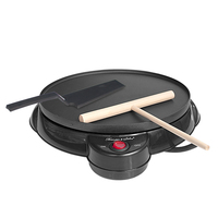 220V Non stick Electric Crepe Maker Pizza Maker Pancake Maker Crepe Making Pan For Household Kitchen Tool Cooking Pan