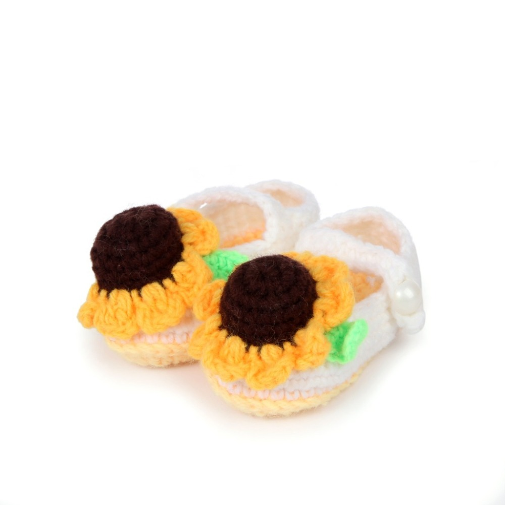 Cute-sunflower-design-Handmade-Knit-baby-knitting-Woolen-Sock-Shoes-baby-photography-props-5BS46-3