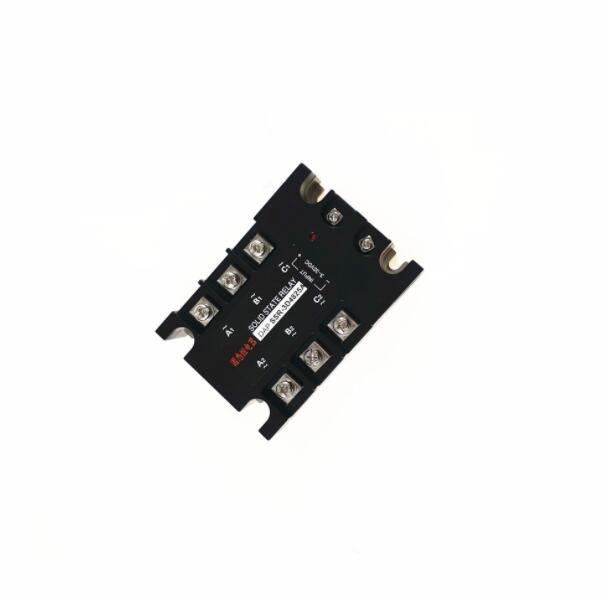 Small high-power three-phase solid state relays 25a 480vac normally open non-contact SSR-3D4825A normally open single phase solid state relay ssr mgr 1 d48120 120a control dc ac 24 480v