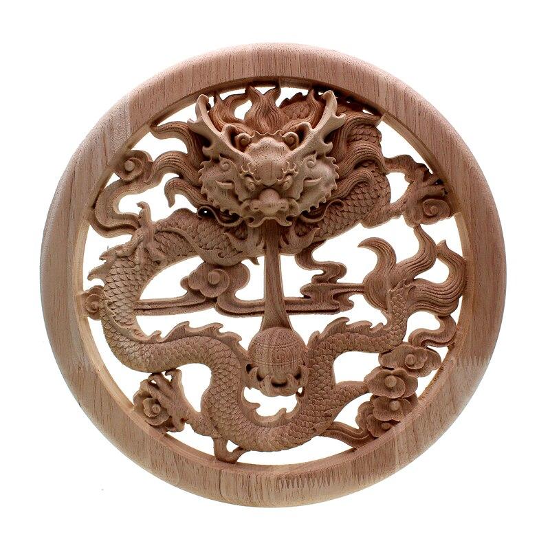 VZLX bois bûches tranches disques disques pour bricolage artisanat Vintage décor à la maison jardin mariage fête décoration accessoires fournitures Figurine